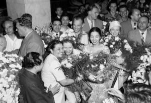 1957(昭和32)モスクワ、ボリショイ・バレエ団初来日