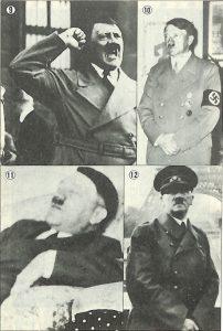 滅亡のシナリオ:実体ヒトラーにはない数々の特徴