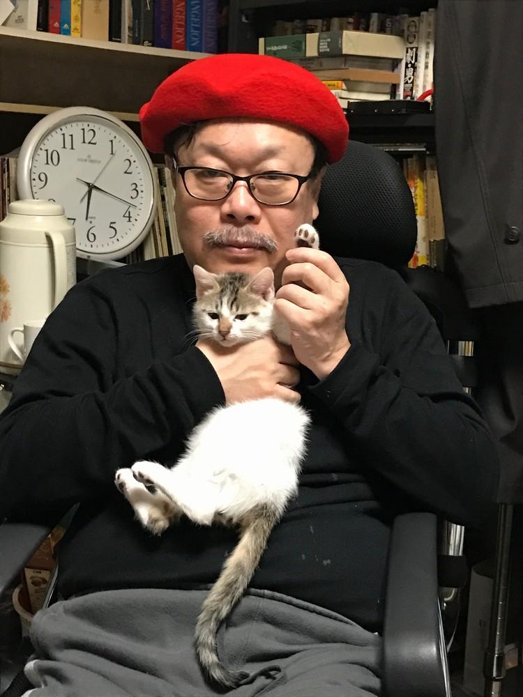 竹熊健太郎(編集家。多摩美術大学非常勤講師。電脳マヴォ編集長)